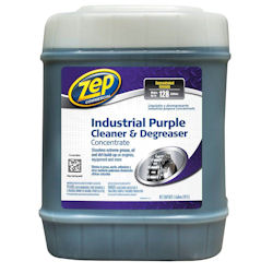 Zep Industrial Purple Cleaner & Degreaser Concentrate, 5 Gallon, ZU08565G