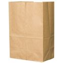 "Brown Paper Grocery Bag - 8.25"" x 6.13"" x 15.88"" - 25#"