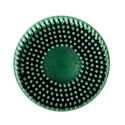 3M Scotch-Brite Roloc Bristle Disc, 2 inch, 50 Grit, Green, 10 per box, 07524