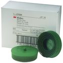 3M Scotch-Brite Roloc Bristle Disc, 3 inch, 50 Grit, Green, 10 per box, 07526