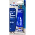 Permatex Sensor-Safe Blue RTV Silicone Gasket Maker, 3 oz. tube, carded, 80022