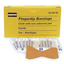Fingertip Bandage, Beige, Cloth, 10 Per Package