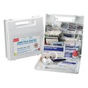 First Aid Kit, Plastic Case Material, General Purpose, 50 People Served Per Kit