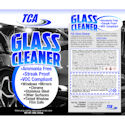 TCA Glass Cleaner, Aersol, 18 oz. Can
